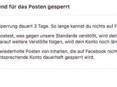 Drei Tage für Facebook gesperrt – weil ich missbrauchte Nonnen kommentiert habe
